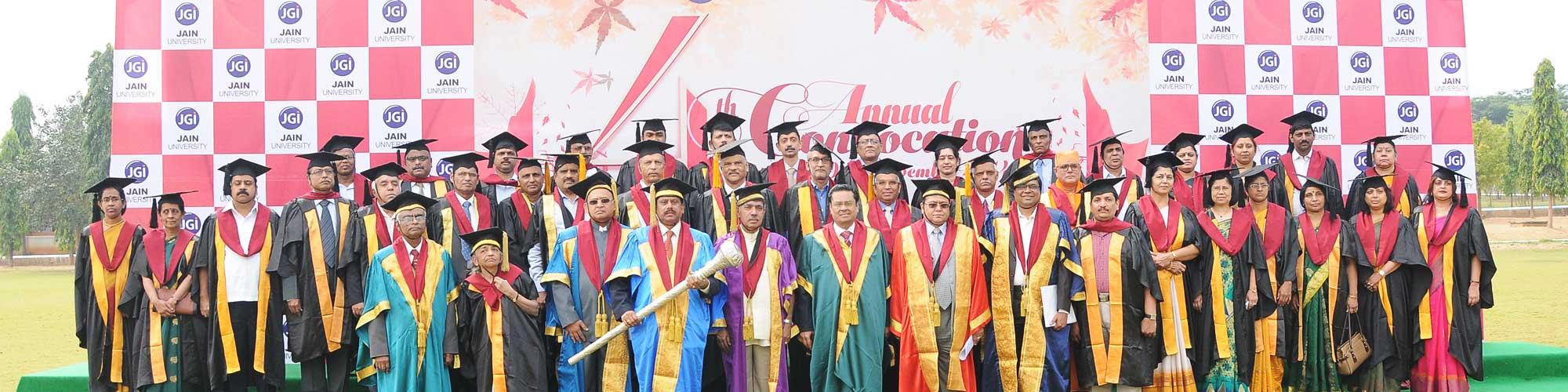 Jain University celebrates scholarly excellence!